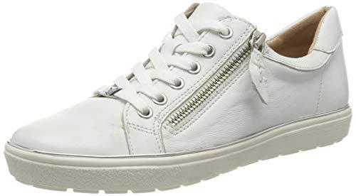 Caprice Damen Manou Sneaker, Weiß (White Nappa 102), 39 EU