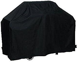 WINOMO grillskydd BBQ Grill Cover skyddande vattentät 170 cm med förvaringsväska - storlek L (svart)