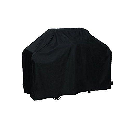 WINOMO Grill Abdeckung BBQ Grill Cover schützende wasserdicht 170cm mit Aufbewahrungstasche - Größe L (schwarz)