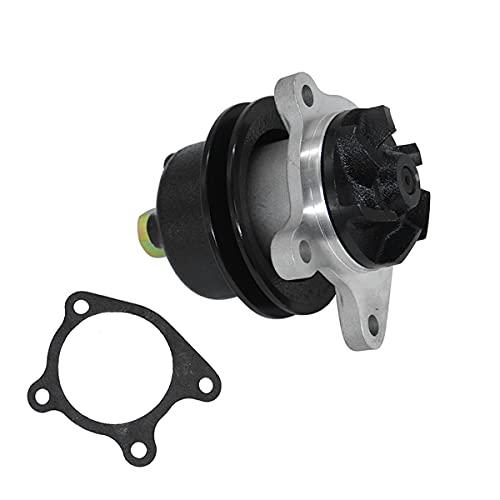 Weelparz Bomba de Agua Del Motor con Junta 298845 Compatible con Kubota KH110 L175 L245 L345 L2000 V1903 Z750-A Compatible con Potencia Marina Universal 5416 M-20