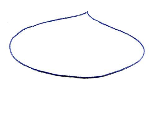 3x Lapis Stränge - feine Walzen 1-2 mm blau/2035g