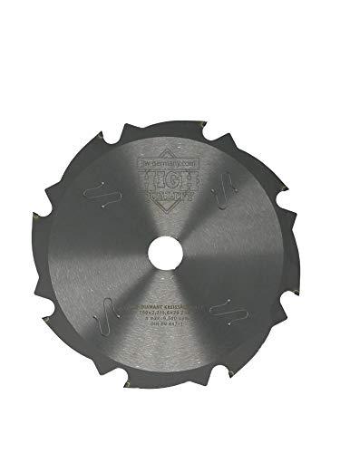 jjw-germany PKD - Diamant Sägeblatt 160 x 2,2 x 20 Z= 8 FL für zementgebundene Faserplatten o. abrasive Werkstoffe (160 x 20 Z= 8 FL)