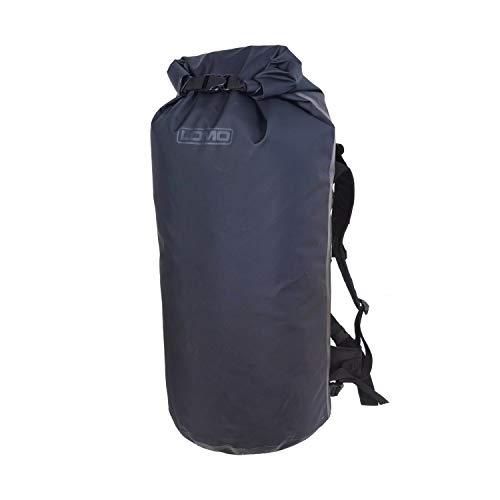 Lomo 60L Tactical Dry Bag Rucksack - Black Outdoors Camping