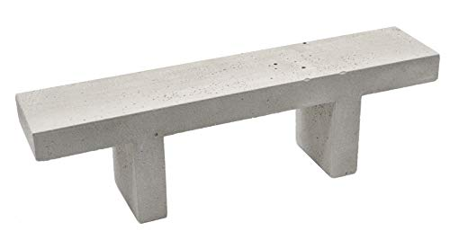 Why Choose Teak Tuning Concrete Fingerboard Bench, Gray - 7 Long, 1.5 Wide, 2 Tall - 1:12 Scale