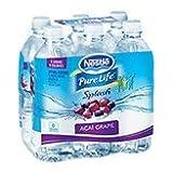Nestle Pure Life Splash, Acai Grape, 16.9 Fluid Ounce (Pack of 6)