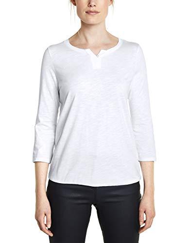 Cecil Damen 313172 Fenja T-Shirt, Weiß (White), Large