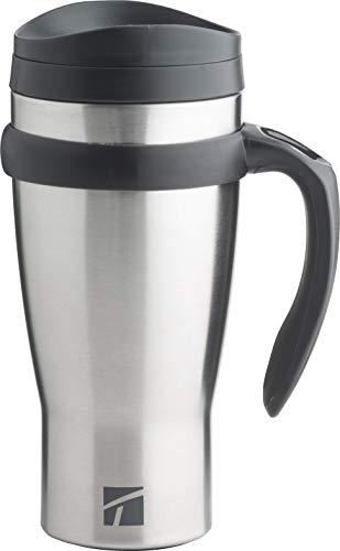 Trudeau Maison Drive Time, 18 oz, Stainless Steel Travel Mug