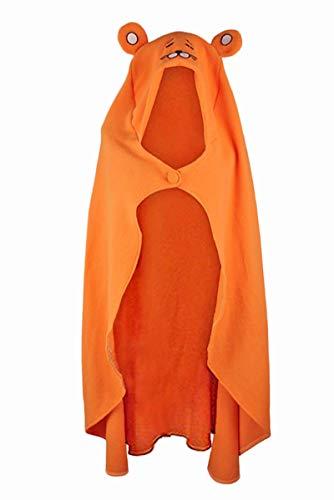 BEDJIMI Himouto Umaru chan Cosplay Cloak Anime DOMA Umaru Hoodie Cape Outfit Orange
