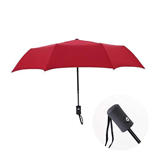 B/H Plegable Paraguas de Compacto Resistente al,Paraguas Plegable de Niños y Adultos, Hombres y Mujeres,Paraguas automático Plegable Creativo-Aspersión automática
