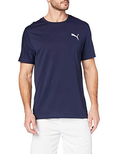 PUMA Herren T-Shirt Active Tee, Peacoat, L, 851702