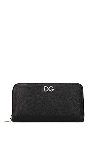 Dolce&Gabbana portafoglio portamonete donna bifold originale nero