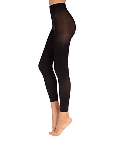 CALZITALY   Leggings IN MIKROFASER   60 DEN   SCHWARZ   S/M, L/XL   Italian Hosiery   (L/XL)
