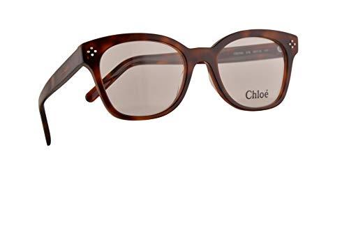 Chloe CE2703 Brillen 52-19-140 Havana Braun Mit Demonstrationsgläsern 218 CE 2703