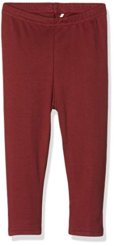 Fred'S World By Green Cotton Star Solid Leggings Baby Rouge (Bordeaux 019172401), 74 Bébé Fille