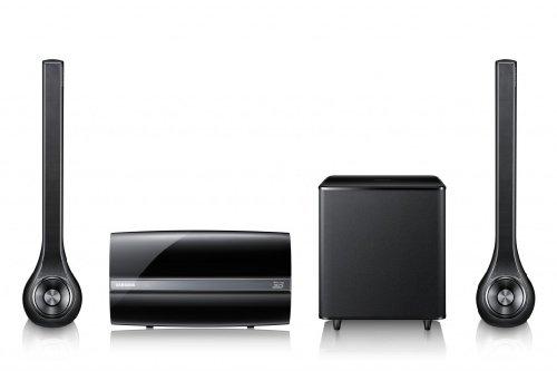 Samsung HT-ES6200 2.1 3D-Blu-ray-Heimkinosystem (400 Watt, WiFi) schwarz