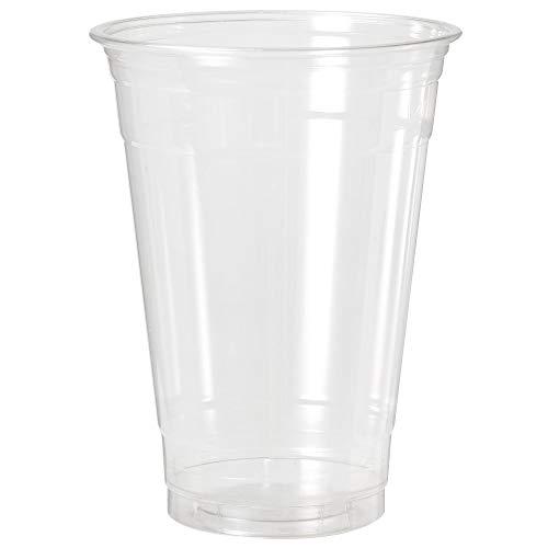 1000Clear Cup tazza (Smoothie della Tazza di To Go), USA e getta tazza–Bicchieri di plastica Pet–Diverse Misure, 16oz, 0,4l