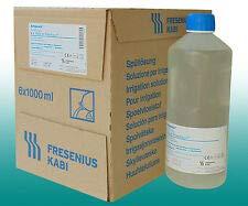 Ampuwa 8x1000ml Plastipur Aqua steriles, pyrogenfreies Wasser Fresenius