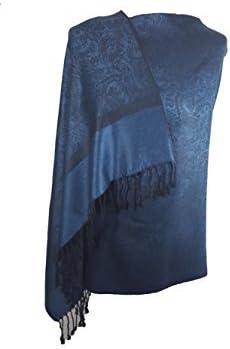World of Shawls jacquard CACHEMIRE mod/èle souple pashmina touch/é/écharpe /étole enveloppant de luxe et chaude
