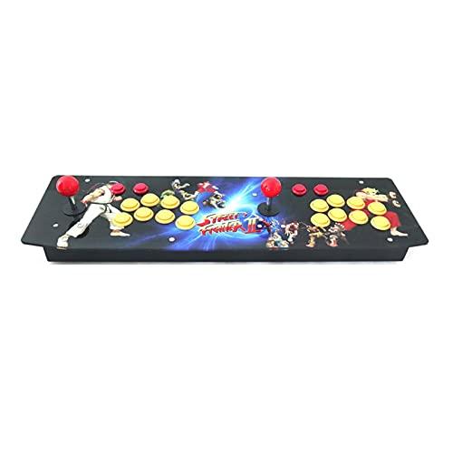 DINGSONGYANG RAC-T300 Dos Jugadores Retro Arcade Game Console Panel de Ilustraciones Caja de Metal 64 g (Color : Artwork 5)
