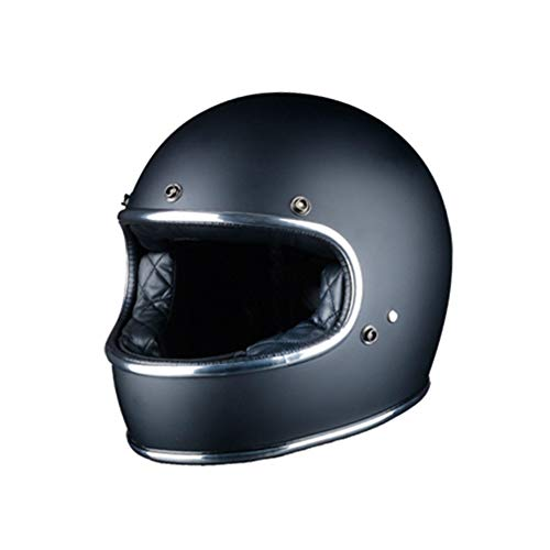 Retro Harley Full Face Motorradhelm Professional Shockproof Motocross Racing Sicherheit Schutzkappen Classic Outdoor Helm Seasons Universal