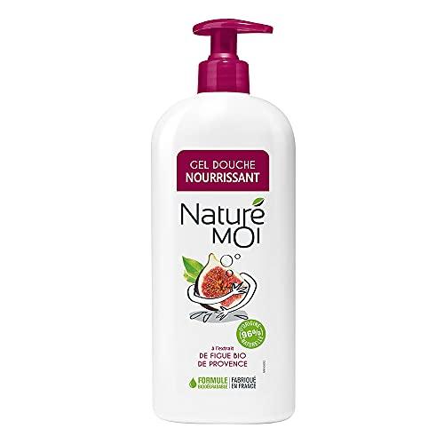 Naturé Moi – Gel douche à l'extrait de figue bio de Provence – Hydrate et nourrit les peaux normales à sèches – 750ml