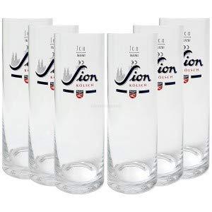 Sion Kölsch Glas/Gläser/Stangen - 6x 0,3L