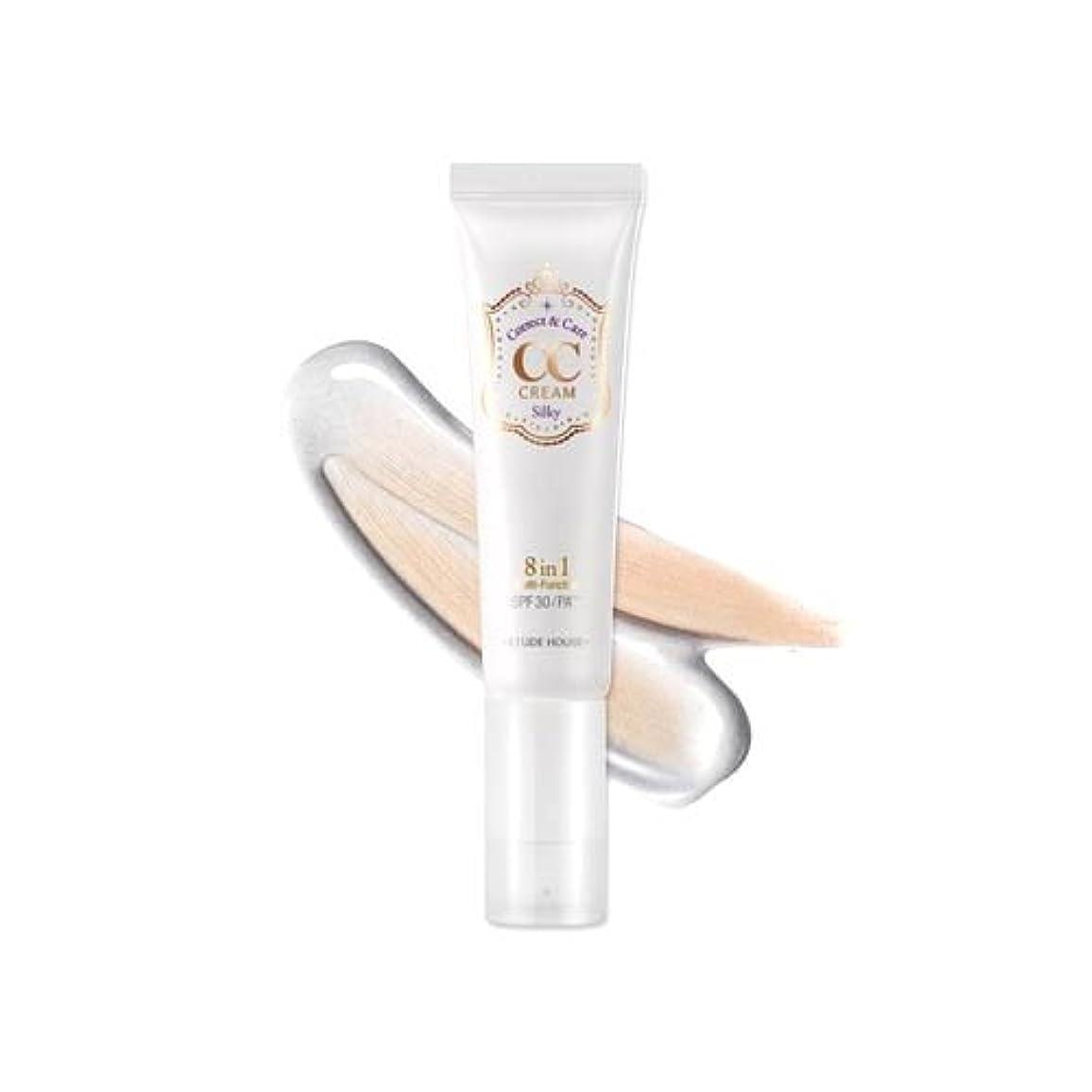 支援ギネスコンテスト(6 Pack) ETUDE HOUSE CC Cream - #01 Silky (並行輸入品)