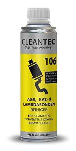 CleanTEC 106 Oxicat - Innovador limpiador de sondas lambda y catalizadores AGR EGR, 300 ml