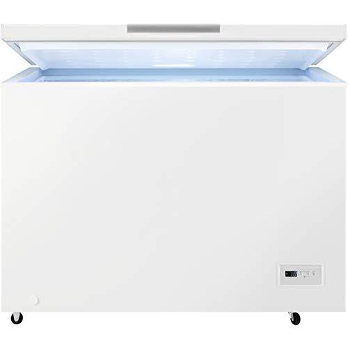 AEG AHB531E1LW Gefriertruhe / 308 L / Energieklasse E / Low Frost - weniger Eisbildung / Temperaturalarm / Rollen