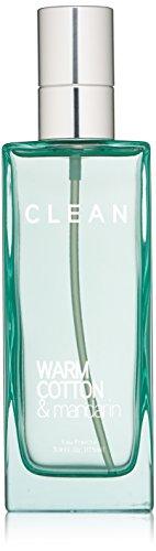 CLEAN Eau Fraiche Body Spray, Warm Cotton/Mandarin, 5.9 Fl Oz