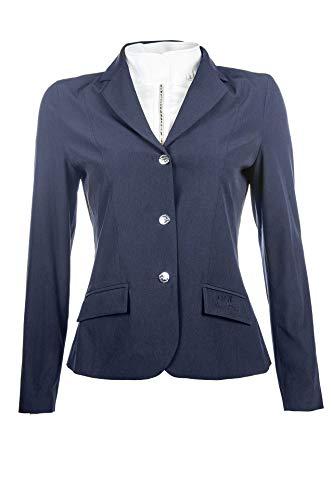 HKM Damen Reitblazer -Light Bluse, dunkelblau-6900, 140