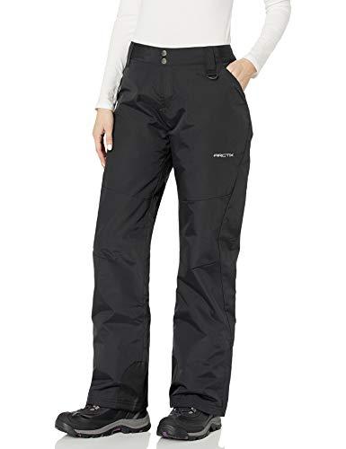 Arctix Women's Premium Insulated Snow Pants, Black, Small (4-6)