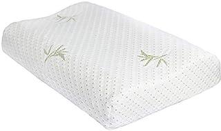 Almohada de espuma viscoelástica con contorno de árbol de Wuke, masaje cervical para dormir profundo, ortopédico, antironquidos para Prime suave, de apoyo cómodo, lavable almohada de sueño 50 × 30