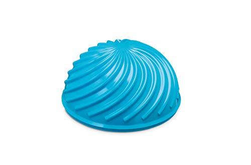 PINOFIT Halbball Wave - für Balance- und Koordinationsübungen - Ideal für Fussmassage - Einstellbarer Druck (Azure)
