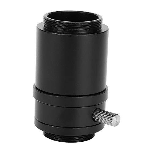 Aluminum Alloy CTV Interface Microscope Lens Adapter Lens Adapter Mount Lens for stereoscopic Microscope(Industrial camera interface 25mm camera interface)