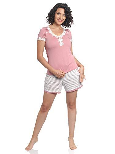 Vive Maria Strawberry Girl Short Pyjama Coral/Allover, Größe:S