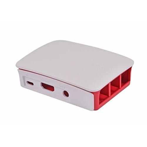 Raspberry 9098132 – Scatola per PC, colore: rosso / bianco