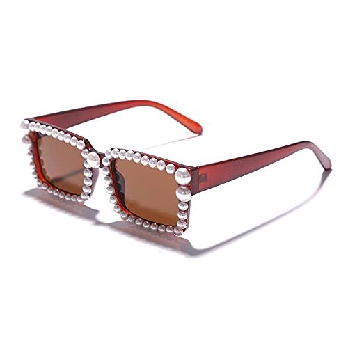 ShZyywrl Gafas De Sol De Moda Unisex Gafas De Sol Vintage para Mujer, Gafas De Sol para Mujer, Gafas De Sol para Mujer, Gafas Retro, Showaspicture