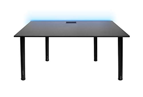 SyberDesk Gaming Desk mit LED für Gamer