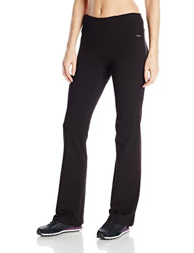 Jockey Women's Slim Bootleg Pant, Black, X-Large
