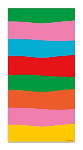 Panorama Agatha Ruiz de la Prada Alfombra Vinílica Motivos Básicos Arcoíris 80x300cm - Alfombra Cocina Vinilo - Alfombra Salón Antideslizante e Ignífuga - Alfombras Grandes - Alfombras PVC