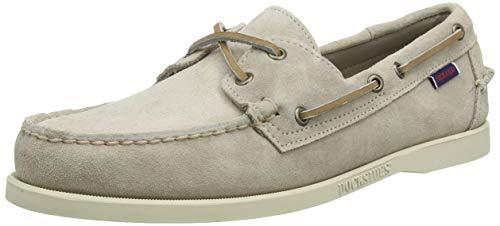 Sebago Docksides Portland Suede, Chaussures Bateau Hommes, Marron (Brown Taupe 910), 39 EU