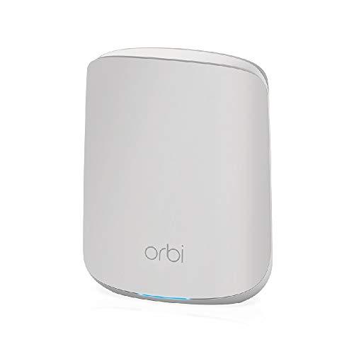 NETGEAR Orbi Mesh WiFi 6 Satellite aggiuntivo RBS350 | Aggiungere fino a 100 m² di copertura | AX1800 (fino a 1,8 Gbps)