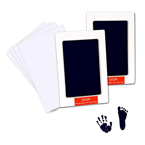 Baby handafdruk en voetafdruk kit veilig niet-toxisch inktpads schoon inktloos touch huisdier poot print inkt kits met 4…