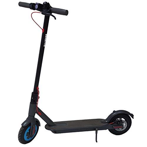 Monopattino Elettrico Pieghevole Dynasun M365 E-scooter in Alluminio per Adulti Max 500w Batteria 7.8Ah, Velocità Max 25Km/H, Fino a 24 Km Autonomia, Ruote 8.5', Freno a Disco, Max 100Kg