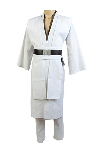Star Wars Obi Wan Kenobi Cosplay Disfraz abrigo marrón small