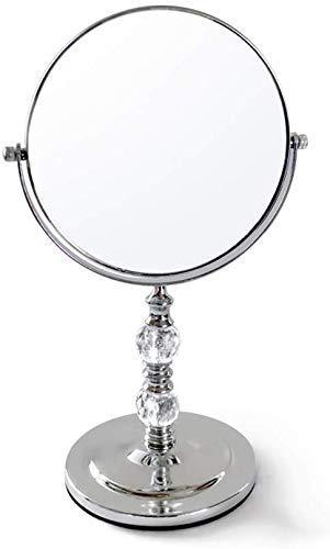 Miroir de maquillage, double miroir rotatif à 360 degrés/loupe unilatérale/rond – Disponible dans une variété de tailles (taille : 20,5 x 33 x 13,3 cm) WTZ012, 18*30*13.3cm