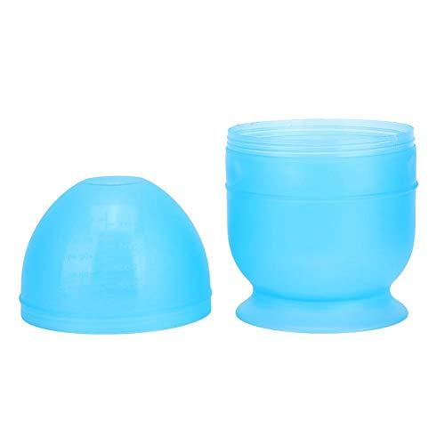 Professionelles Air Styling Tool Haarfärbeschale, exquisite Shaker Cup zum Färben von Haaren, mit Waage für Friseur Friseur Baber(blue)