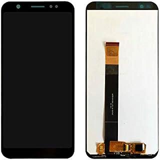 ixuan Asus Zenfone Max M1 ZB555KL 修理用フロントパネル(フロントガラスデジタイザ)タッチパネル Lcd液晶パネルセット 修理工具付き ブラック