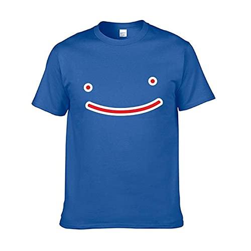 GIRLXV Primavera Y Verano Dreamwastaken Camiseta Deportiva Suelta De Cuello Redondo De Manga Corta para Hombre De Algodón para Hombre Y Mujer XS